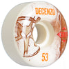 Bones STF Pro Decenzo Vintage V2 Skateboard Wheels - White - 53mm (Set of 4)