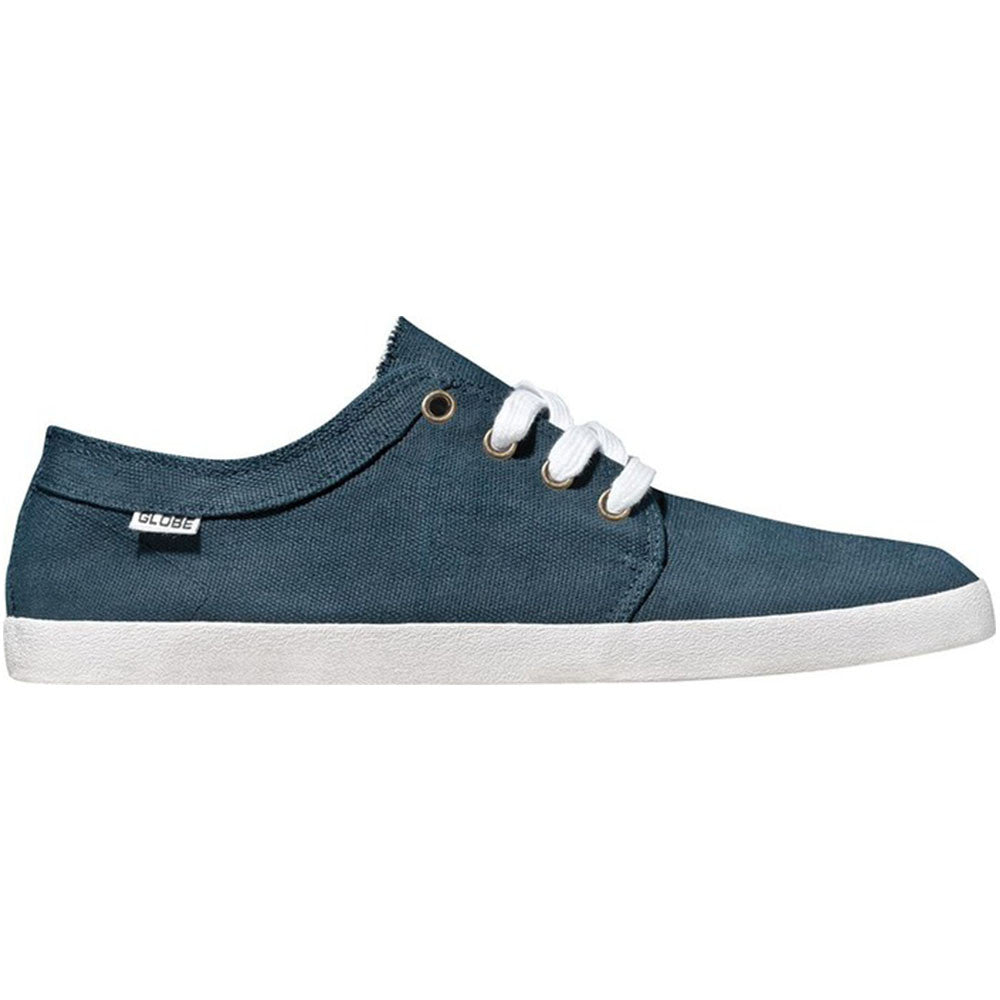 Globe Red Belly Skateboard Shoes - Ink Blue