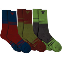Fallen Aftershock Men's Socks - Assorted (3 Pairs)
