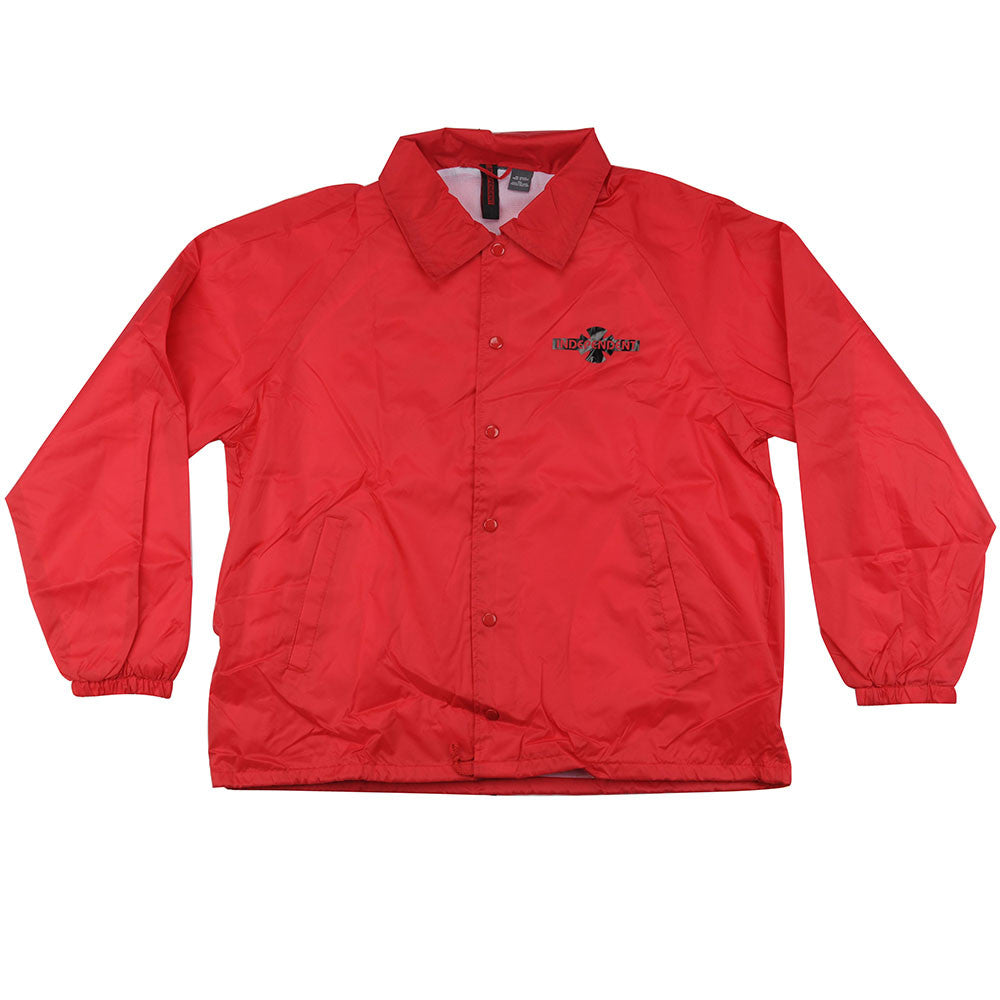 Independent OG Pattern Coach Windbreaker Men's Jacket - Red