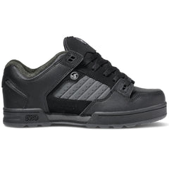 DVS Militia Skateboard Shoes - Black/Grey HA 965