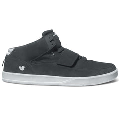 DVS Torey 3 Skateboard Shoes - Black/White Suede 001