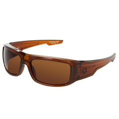 Spy Colt Wrap Sunglasses - Brown Ale Frame - Bronze Lens