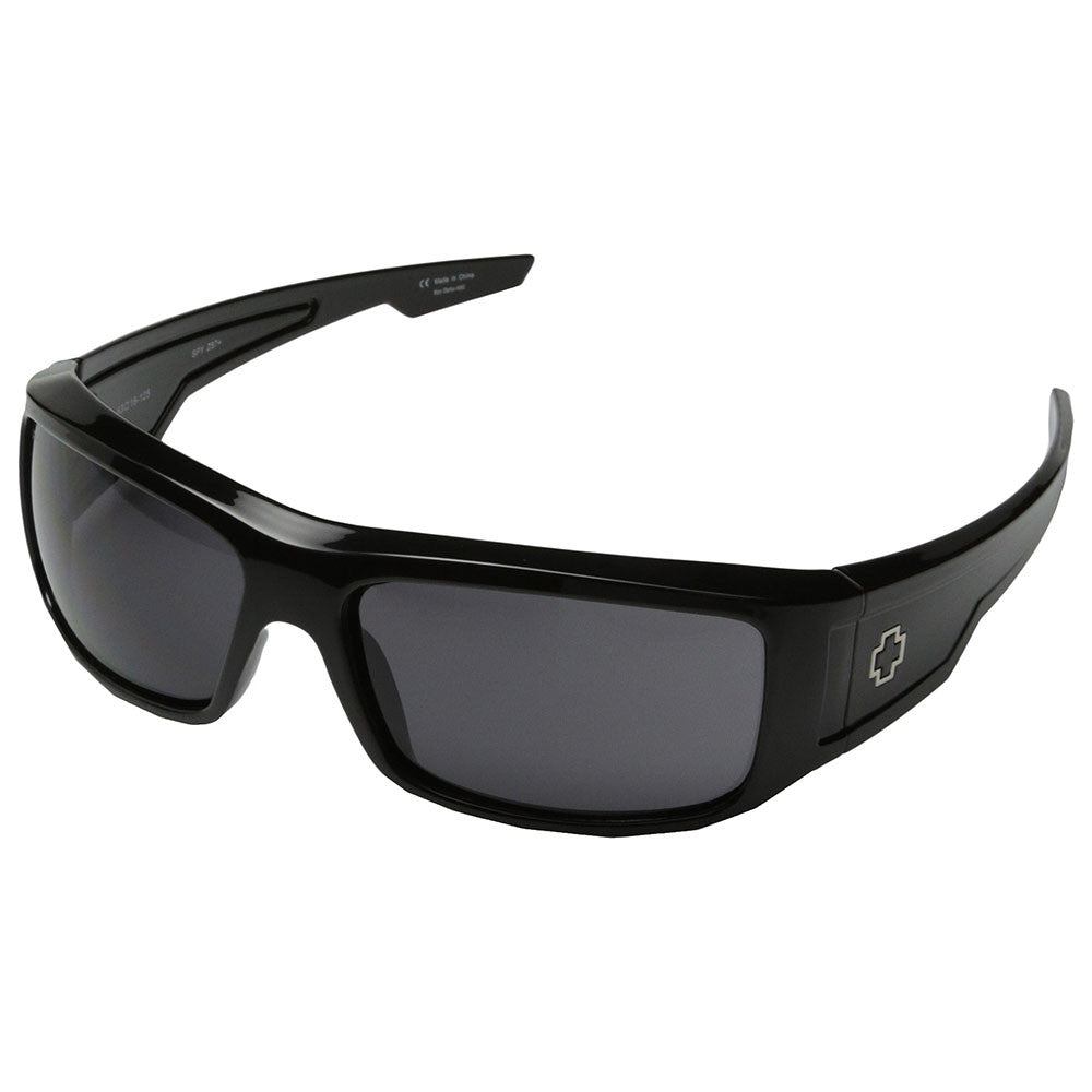 Spy Colt Ansi Sunglasses - Black Frame - Grey Lens