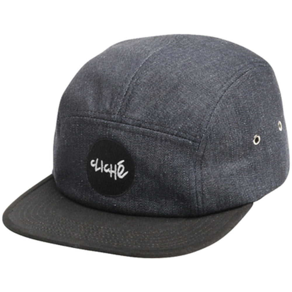 Cliche Wallace Strapback Cap Men's Hat - Denim