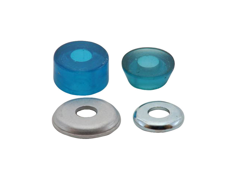 Tracker Superball Skateboard Bushings - 82a - Blue Swirl (2 PC)