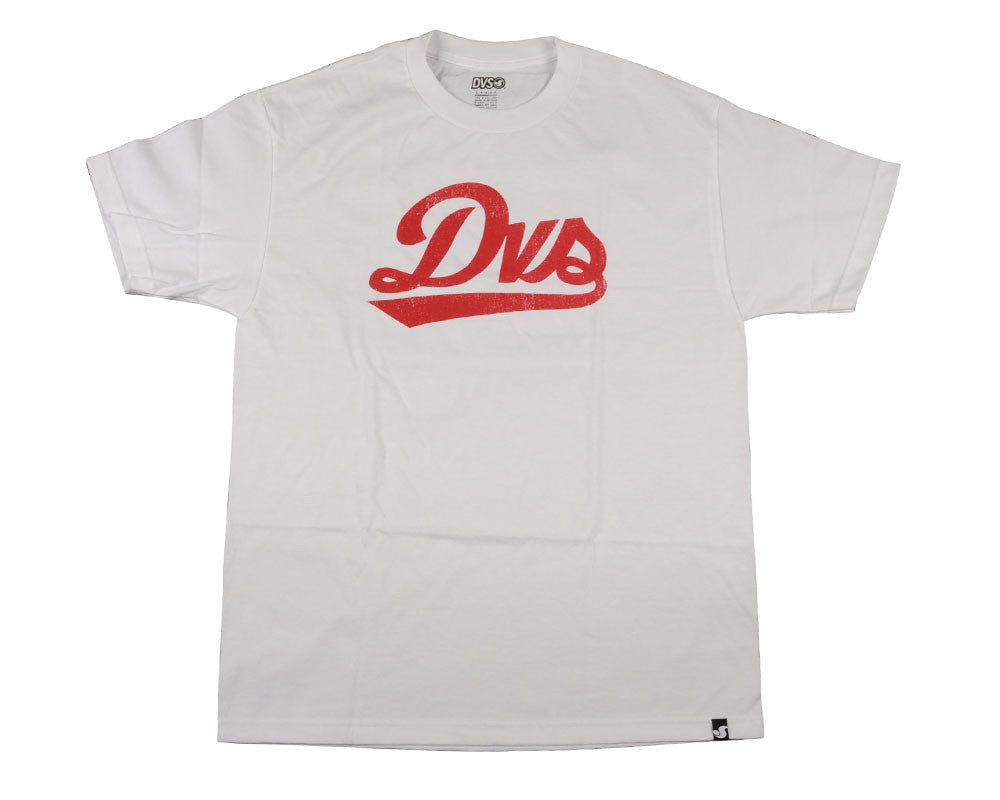 DVS League Script Men's T-Shirt - White
