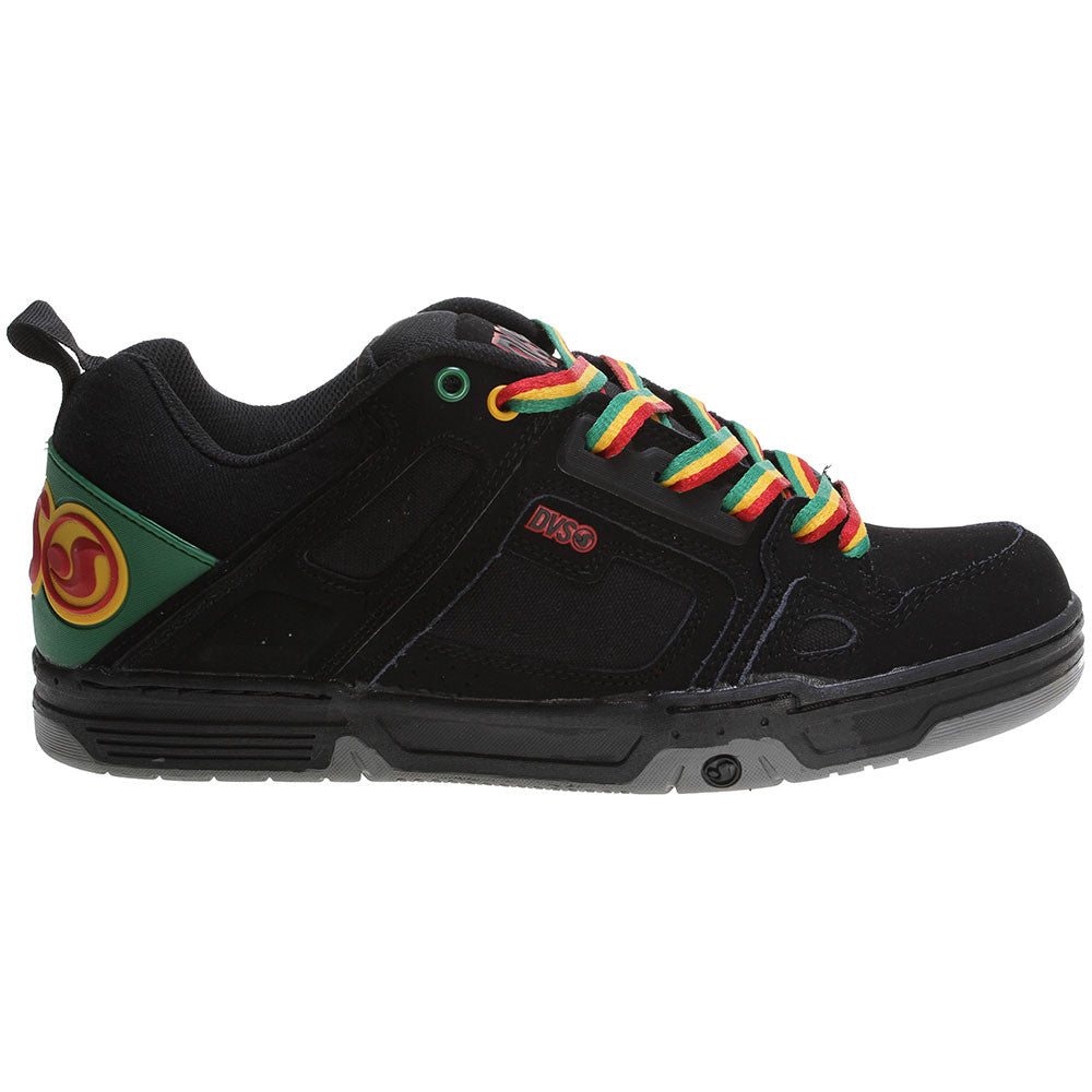 DVS Comanche Skateboard Shoes - Black Rasta S05
