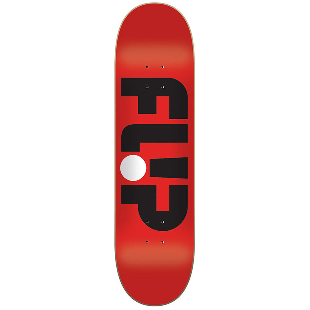 Flip Team Odyssey Series Skateboard Deck - Red - 8.0in x 31.5in