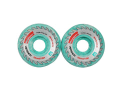Autobahn Pepper Buzzsaw Limited Edition Skateboard Wheels 53mm 100a - Teal (Set of 4)