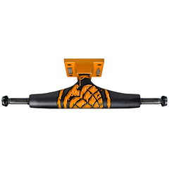 Thunder City Toxin Low Skateboard Trucks - 145mm - Black/Orange (Set of 2)