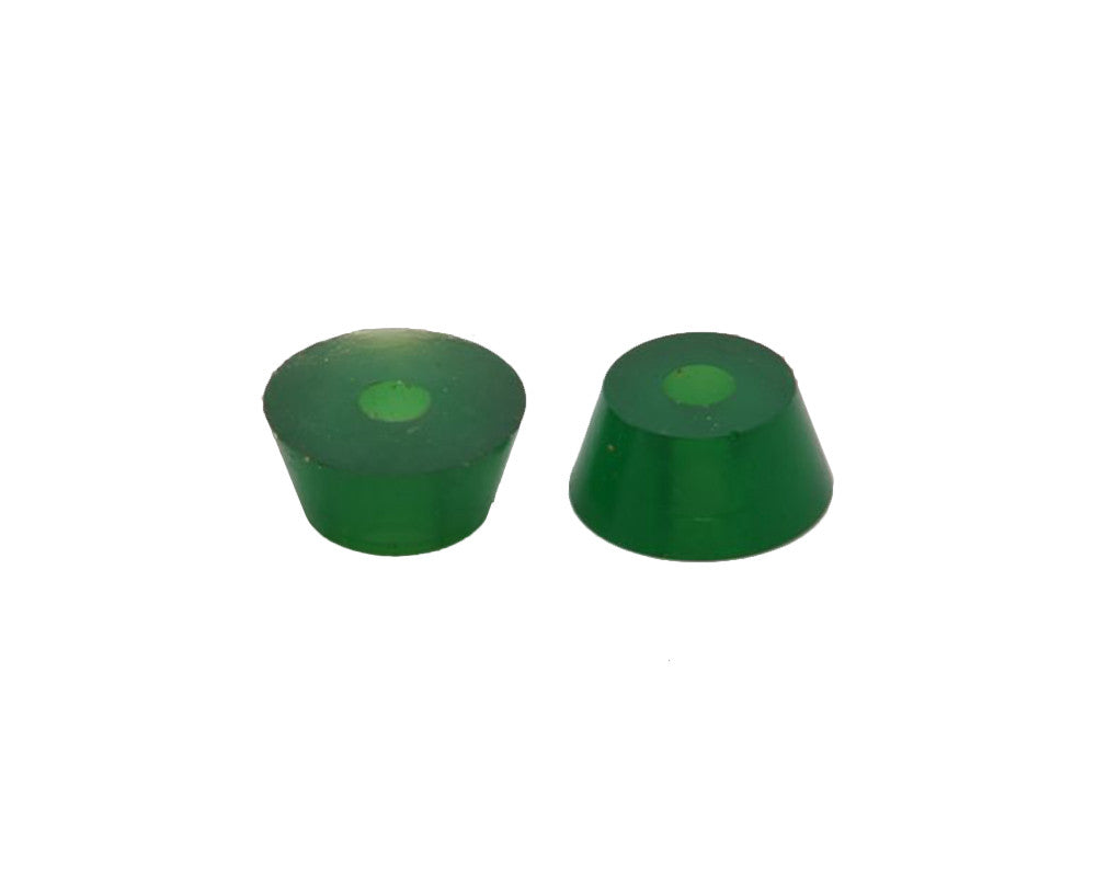 Tracker Fastrack Cushions Skateboard Bushings - 85a - Green (2 PC)