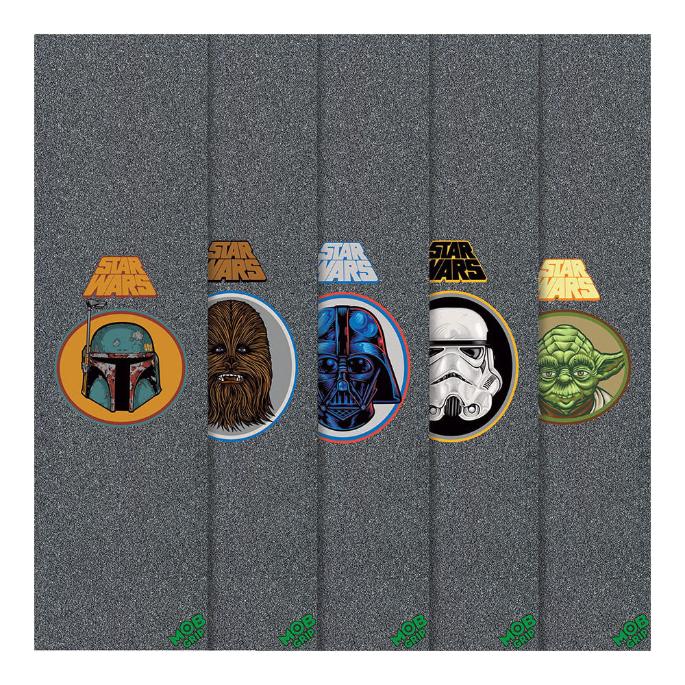 Mob Star Wars - Assorted - 9in x 33in - Skateboard Griptape (1 Sheet)