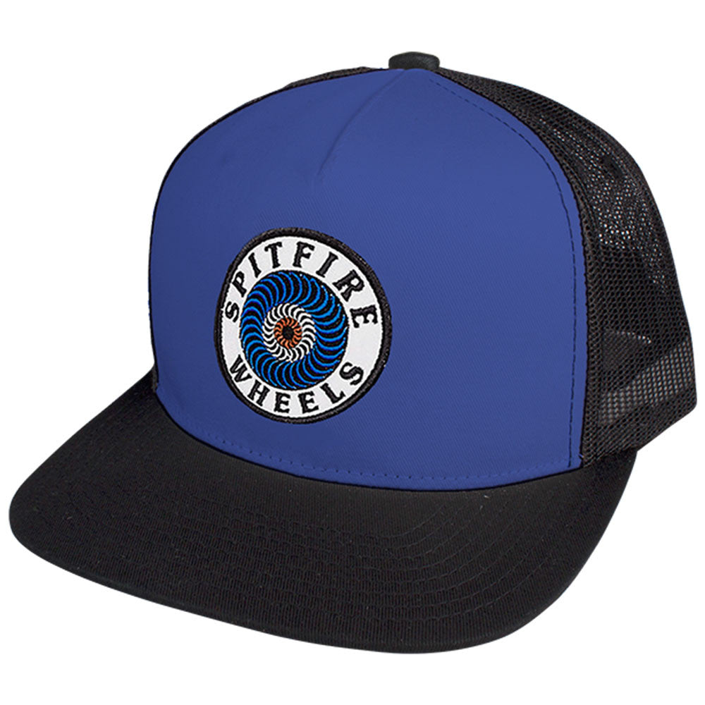 Spitfire OG Classic Adjustable Trucker Men's Hat - Royal/Black