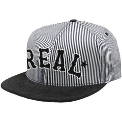 Real Adjustable On Deck Snapback Men's Hat - Twill
