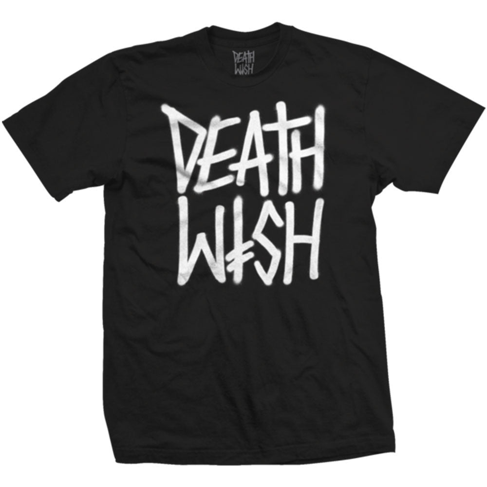 Deathwish Deathstack Men's T-Shirt - Black/White