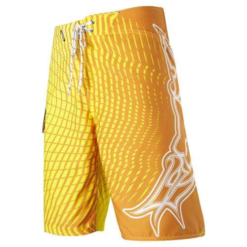 Fox Harter Vortex Mens Boardshort - Yellow