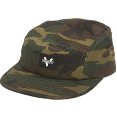 Venture Adjustable Mainstay Strapback 5 Panel Mens Hat - Camo Twill