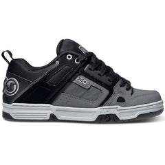 DVS Comanche Skateboard Shoes - Black Trubuck Gunny 018