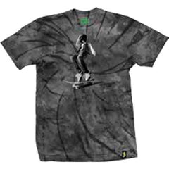 Shake Junt Ali Men's T-Shirt - Black/Grey Tie-Dye