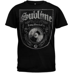 Sublime Band Bottled In LBC T-Shirt - Black