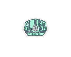Alien Workshop Sticker OG Logo - Small