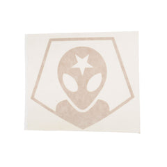 Alien Workshop Alien Head Decal Sticker - Black