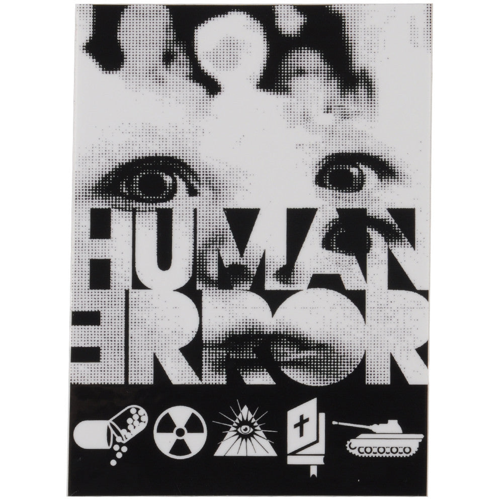 Alien Workshop Human Error Sticker - Assorted