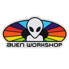 Alien Workshop Spectrum Sticker - White