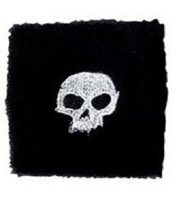 Zero Sweat Bands Skull - Black