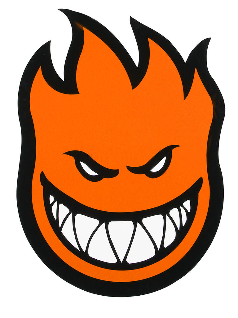 Spitfire Fireball Sticker - Extra Large - Orange
