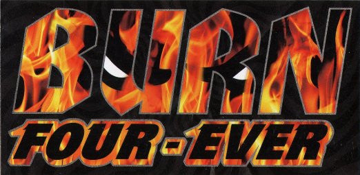 Spitfire Burn Four Ever Sticker - Medium - Assorted