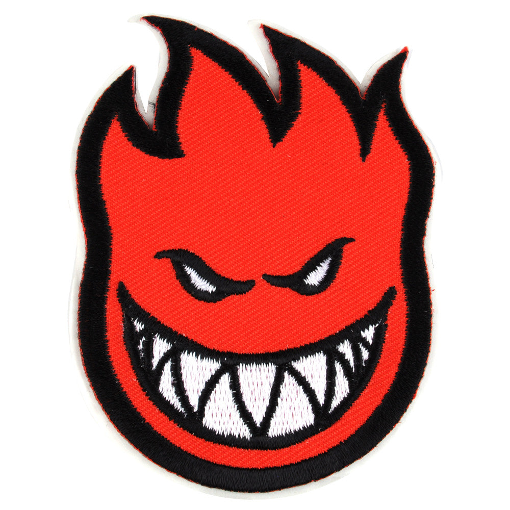 Spitfire Patch Bighead Small Sticker - Red