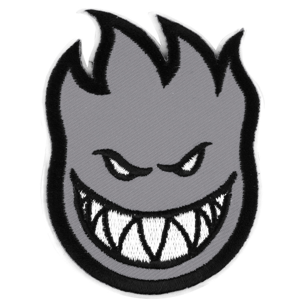 Spitfire Patch Bighead Small Sticker - Grey