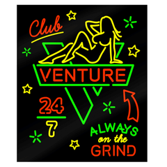 Venture Club Venture Sticker - Medium
