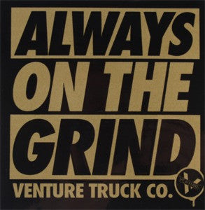 Venture On The Grind Sticker - Medium - Assorted Colors