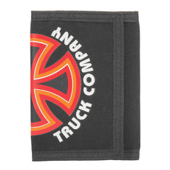 Independent Bauhaus Cross Tri-Fold Wallet - Black