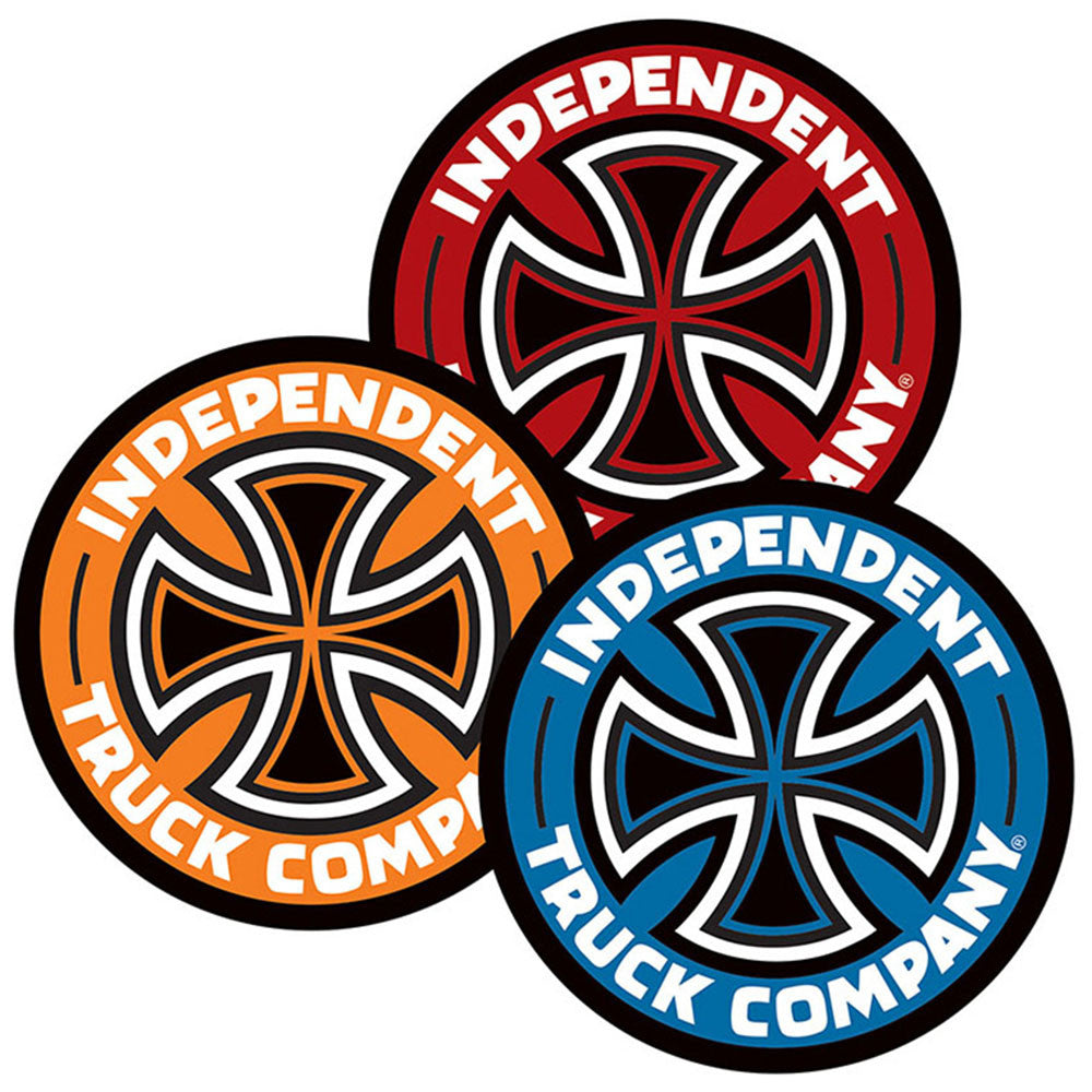 Independent Colored TC Decal Sticker - Assorted - 5in x 5in