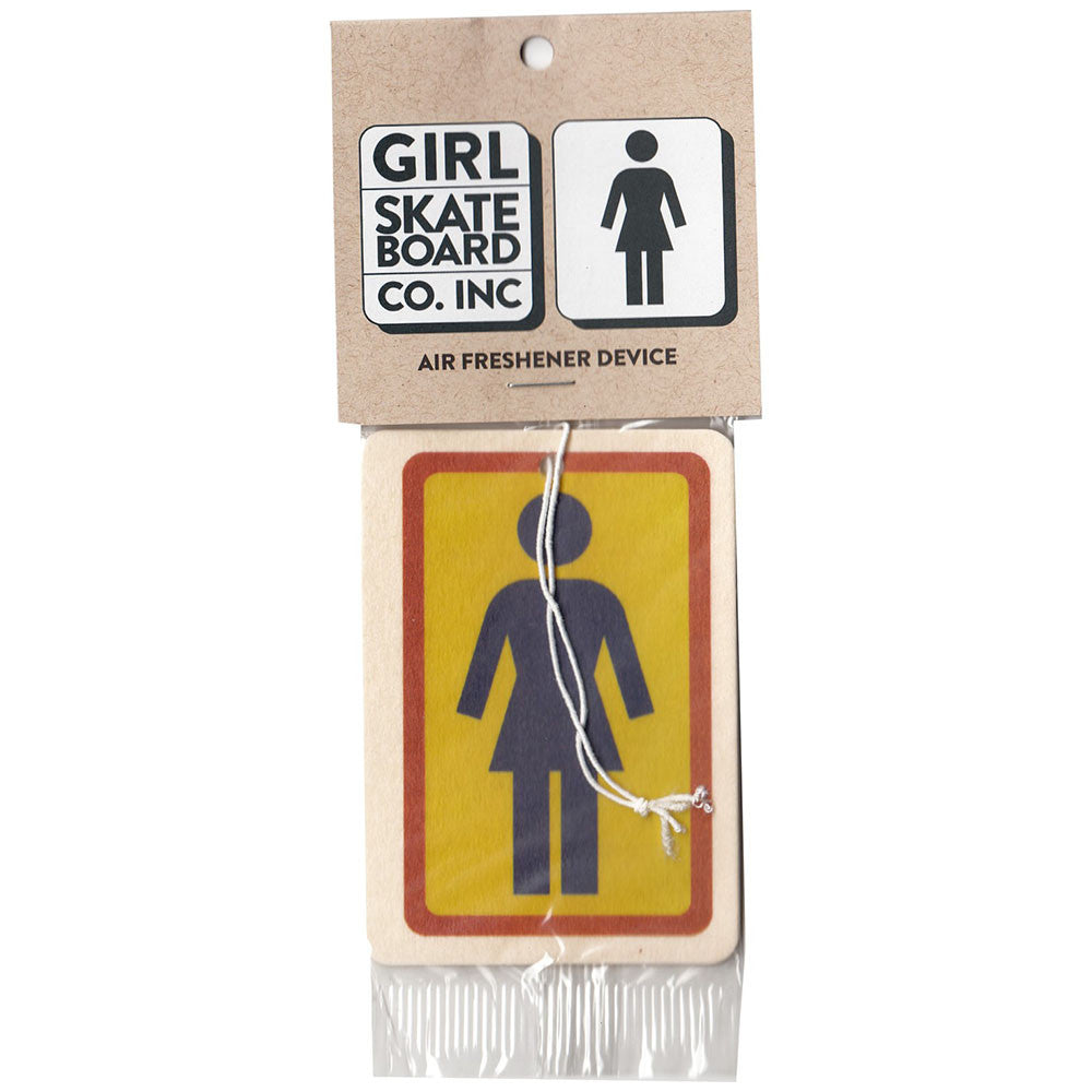 Girl OG Air Freshener - Yellow