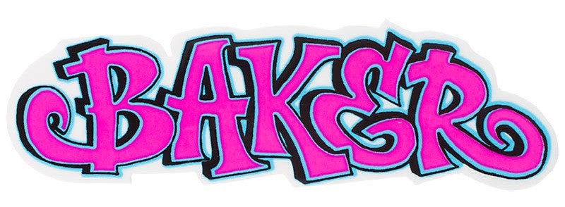 Baker Fatcap Stickers - Assorted