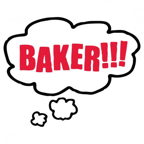 Baker Bubble Stickers