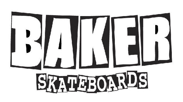 Baker Brand Logo Stickers - Small