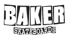 Baker Brand Logo Stickers - Medium