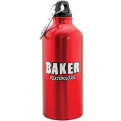 Baker Brand Logo Water Bottle - Red
