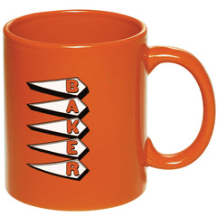 Baker 24 Hours Coffee Mug - Orange