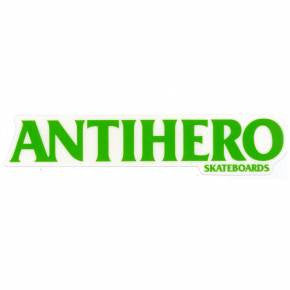 Anti-Hero Long Black Hero Sticker - Medium - Assorted Colors
