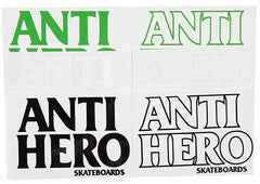 Anti-Hero Black Hero Sticker - Medium - Assorted Colors