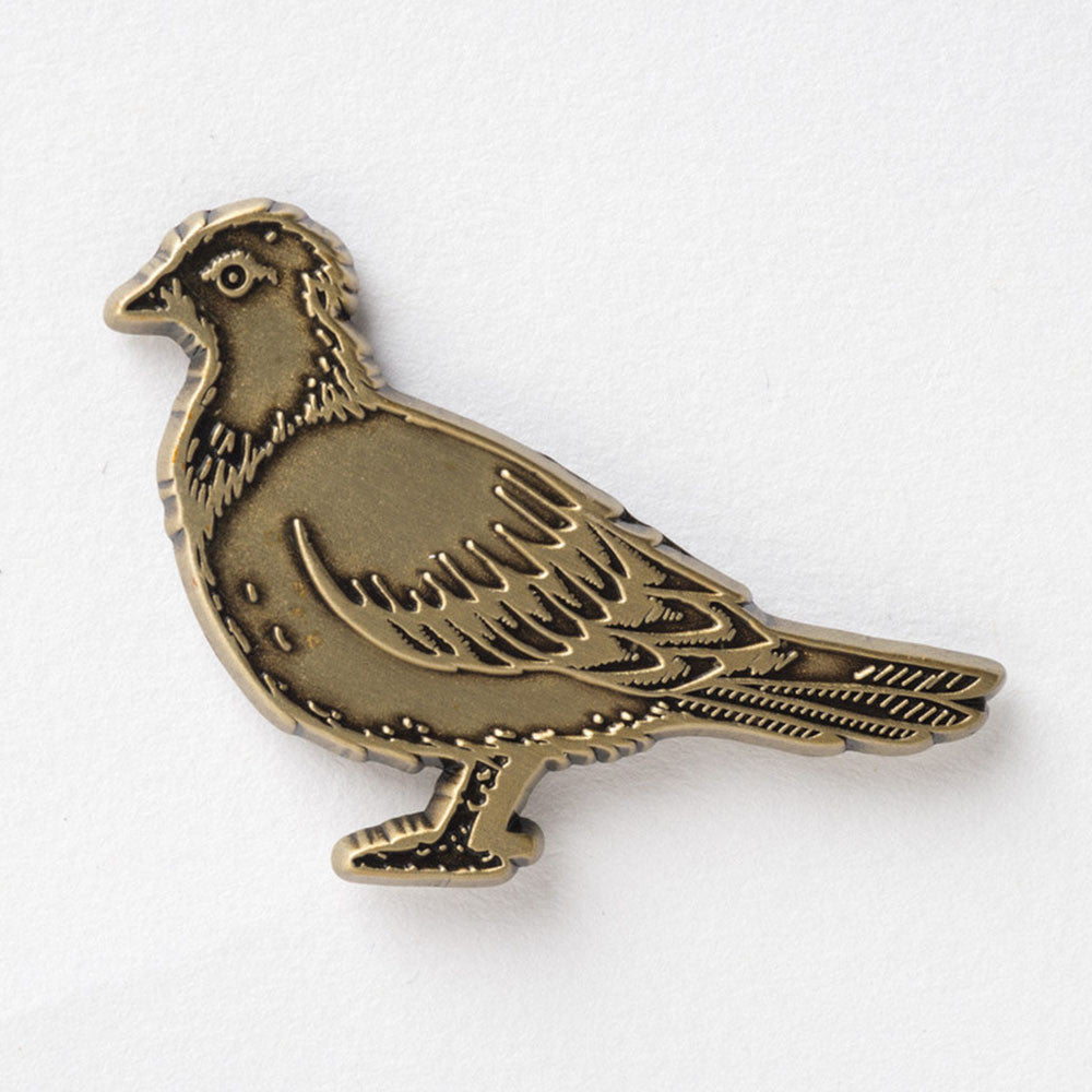 Anti-Hero Pigeon Lapel Pin - Copper