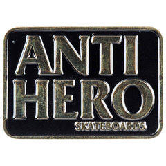 Anti-Hero Black Hero Lapel Pin - Black/Gold