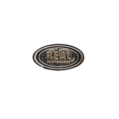 Real Bold World Oval Sticker - Small